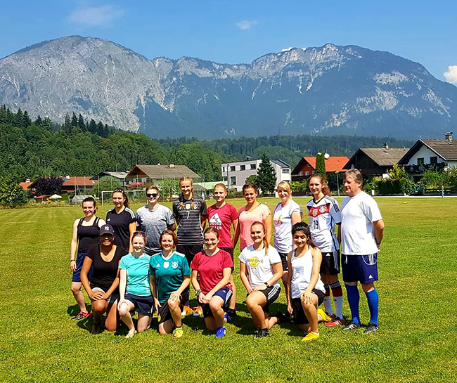 DAMEN Trainingslager am Wilden Kaisers in Österreich