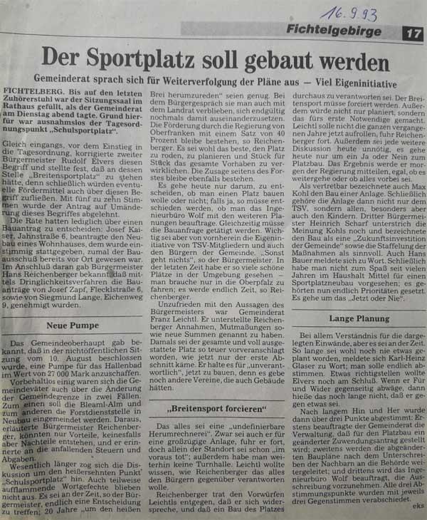TSV Fichtelberg - Sportplatzbau_1993