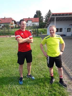 Trainer Peter Veigl und Co-Trainers Didi Ehlich